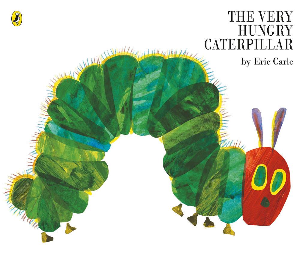 bardzo głodna gąsienica eric carle po angielsku duża kartonowa książka
