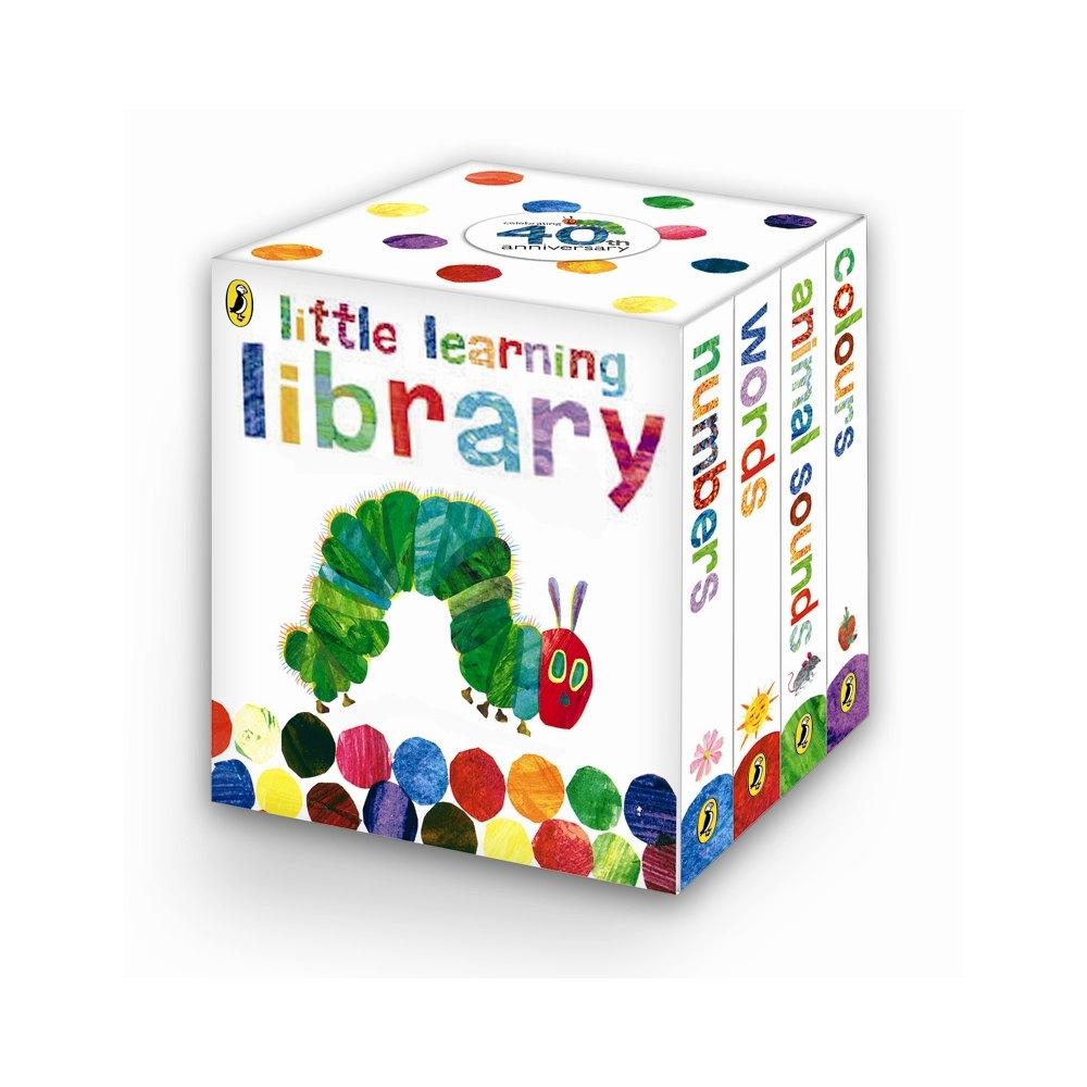bardzo głodna gąsienica zestaw mini książeczek dla dzieci po angielsku