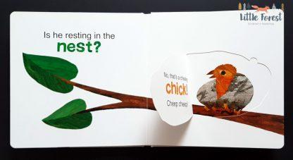 bardzo głodna gąsienica książka z okienkami eric carle po angielsku