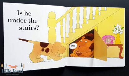 gdzie jest spot książka dla dzieci z okienkami po angielsku