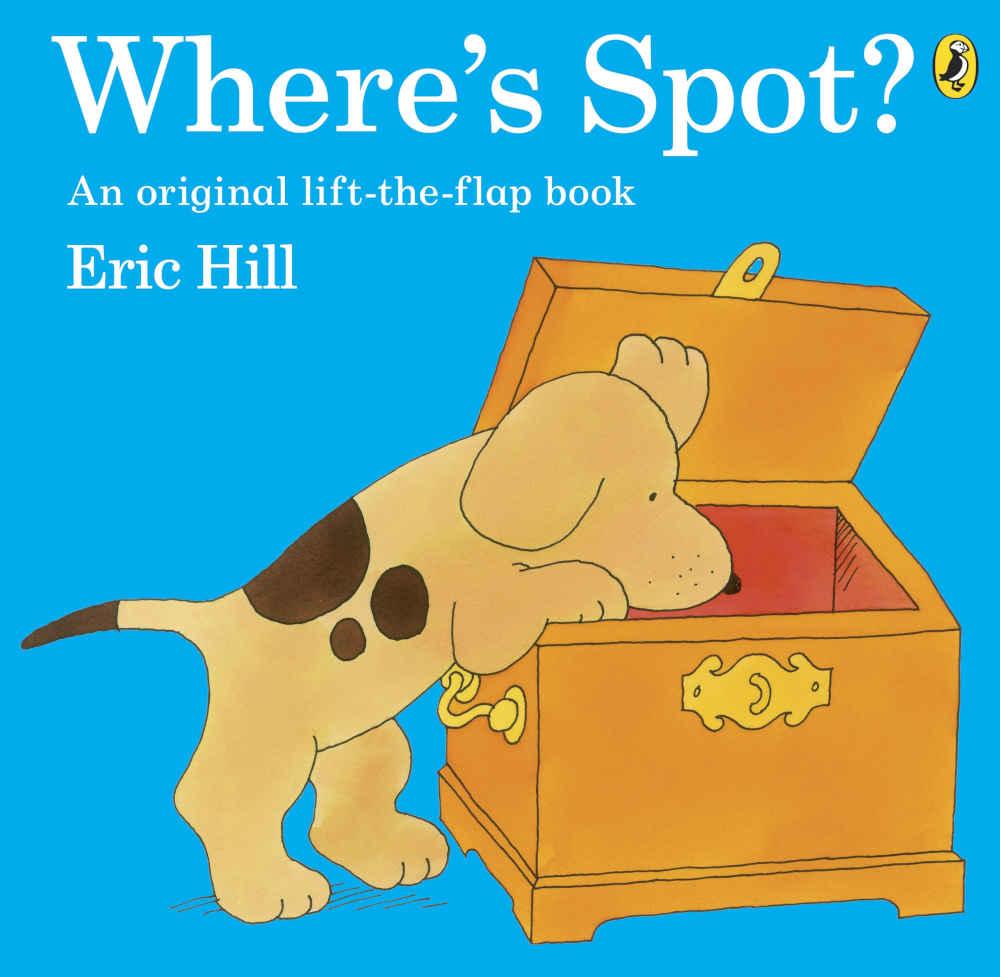 gdzie jest spot książeczka dla dzieci po angielsku