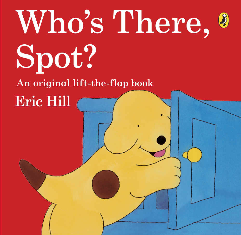 spot książka dla dzieci z okienkami po angielsku