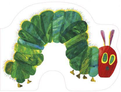 książka w kształcie bardzo głodniej gąsienicy erica carle'a