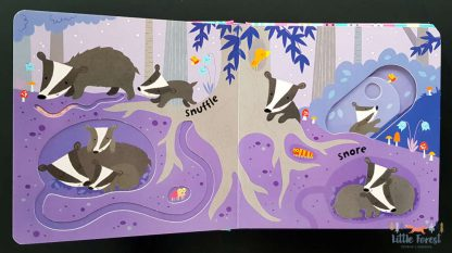 książka sensoryczna z ruchomymi elementami dla dzieci