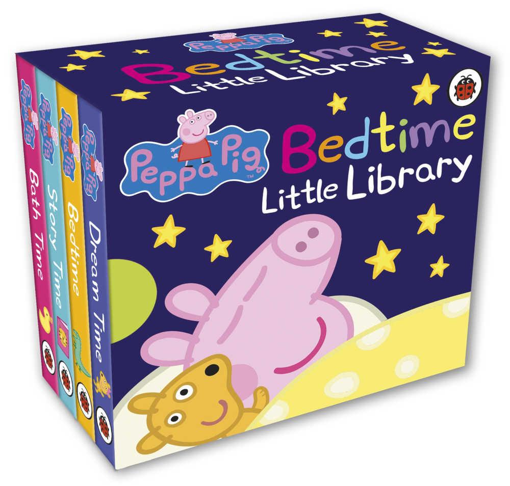 świnka peppa zestaw mini książeczek do czytania przed snem