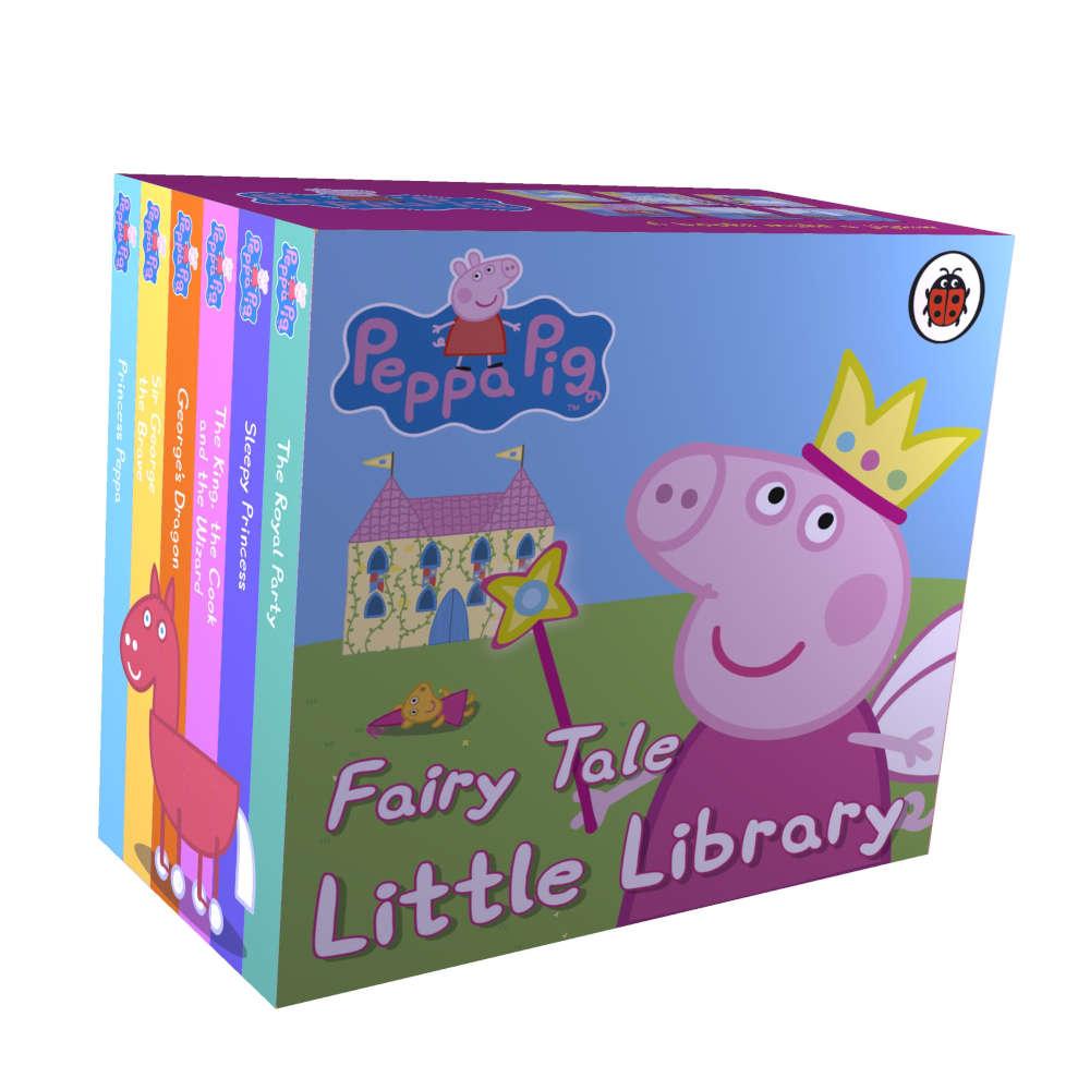 peppa pig zestaw mini książeczek o królewnach i księżniczkach