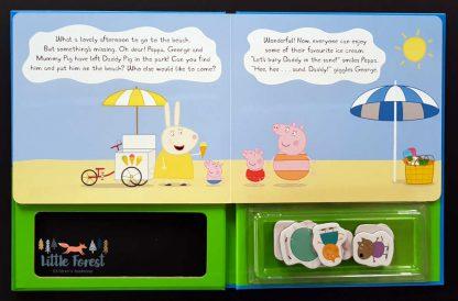 świnka peppa książka z magnesami dla dzieci