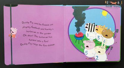 świnka peppa książka dla dzieci po angielsku straż pożarna