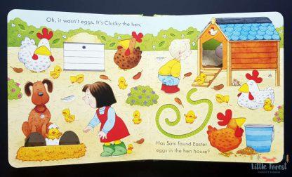 książeczka sensoryczna lda dzieci na wielkanoc po angielsku
