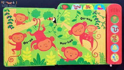 książka dźwiękowa dla dzieci z odgłosami zwierząt