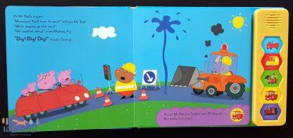 świnka peppa książka dźwiękowa dla dzieci