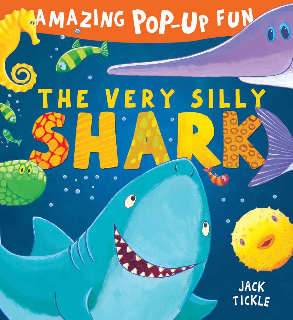 książka trójwymiarowa 3D dla dzieci rekin