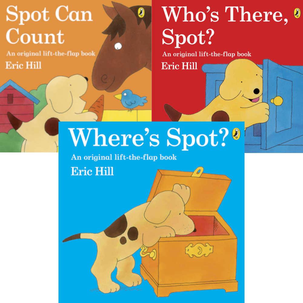 gdzie jest spot książka dla dzieci po angielsku eric hill