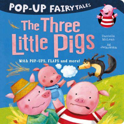 trzy świnki książka dla dzieci po angielsku trójwymiarowa