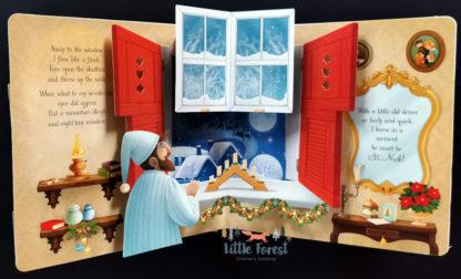 książka 3D trójwymiarowa dla dzicie na święta mikołajki i boże narodzenie