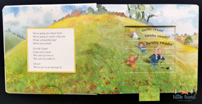 idziemy na niedźwiedzia książki ze zmieniającymi się ilustracjami