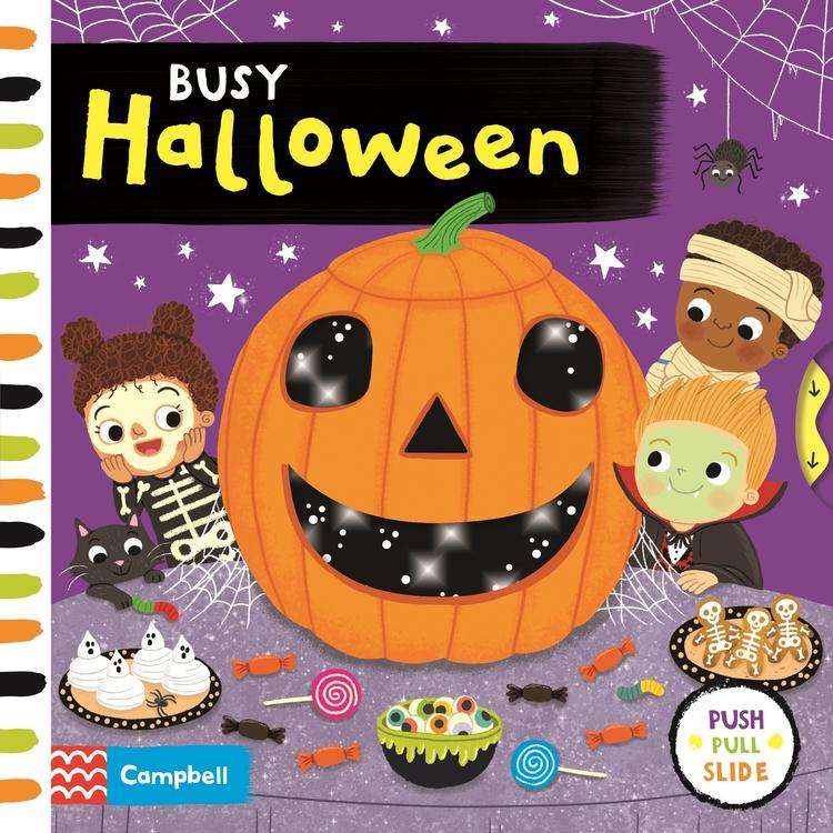 ksiązki dotykowe dla dzieci halloween