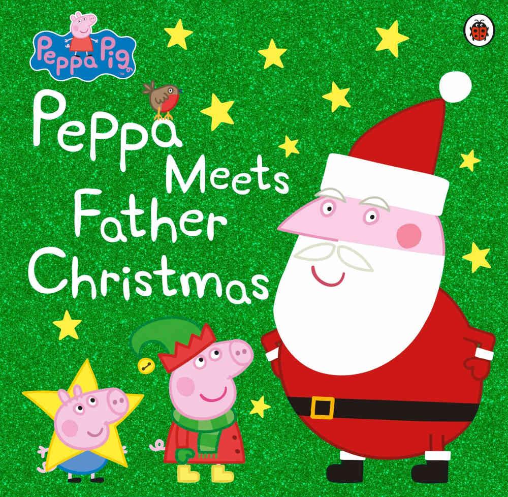 świnka peppa książki po angielsku boże narodzenie święty mikołaj