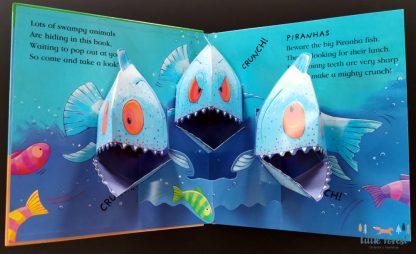 książka trójwymiarowa 3D dla dzieci po angielsku