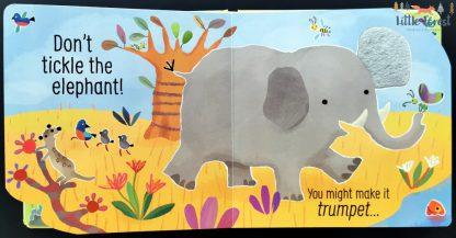 ksiazka dźwiękowa zwierzęta dla dzieci usborne