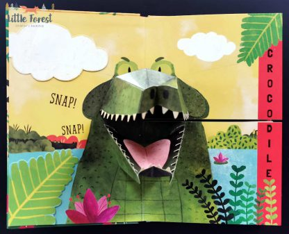 książka 3D zwierzęta