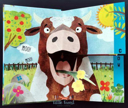 książka dla najmłodszych zwierzęta po angielsku