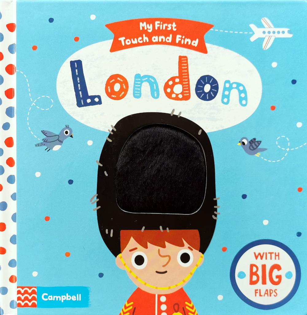 londyn ksiązka dotykowa dla najmłodszych