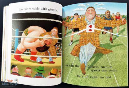 ksiażka dla dzieci o tacie