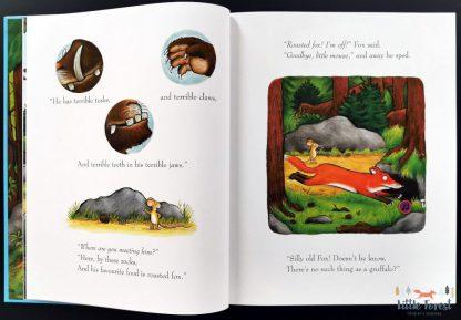 gruffalo ksiązka dźwiękowa julia donaldson