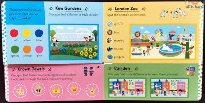 książka dla dzieci o londynie