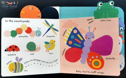 książka sensoryczna dla dziecka