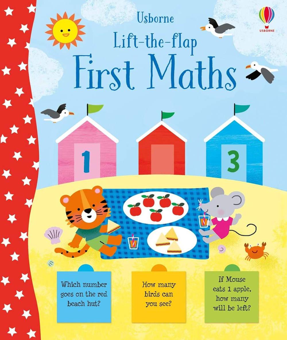 książka z okienkami usborne matematyka dla dzieci