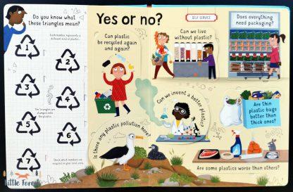 książka dla dzieci o ekologii, plastiku, recyklingu