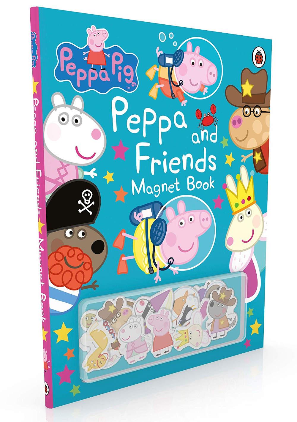 peppa ksiązka z magnesami