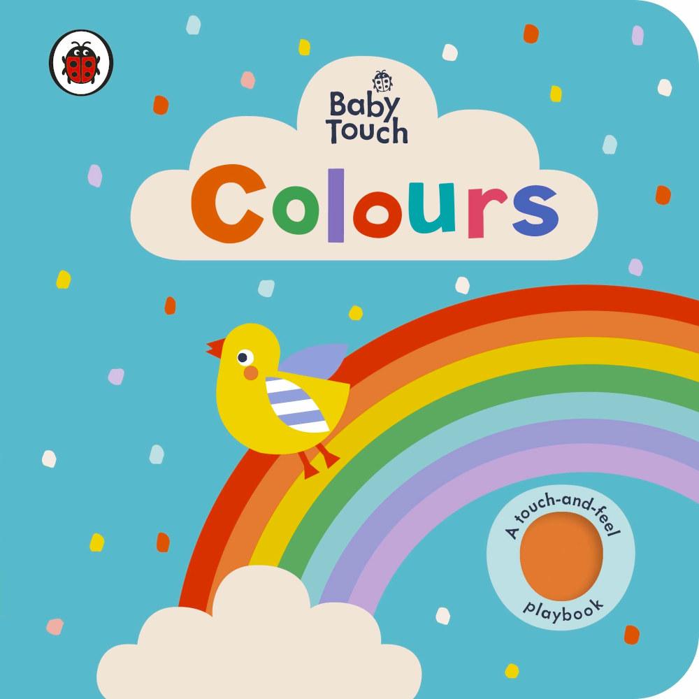 książka dotykowa nauka kolorów po angielsku
