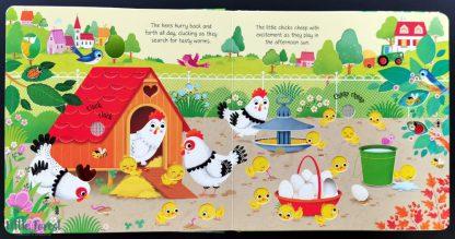 ksiązka dźwiękowa farma odgłosy zwierząt usborne