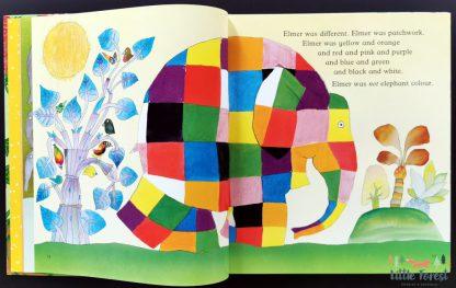elmer książka dla dzieci po angieslku