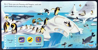 książka dotykowa ruchome elementy dla roczniaka i dwulatka po angielsku