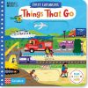 książka o pojazdach po angielsku dotykowa ruchome ilustracje