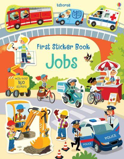 książka z naklejkami usborne dla dzieci po angielsku