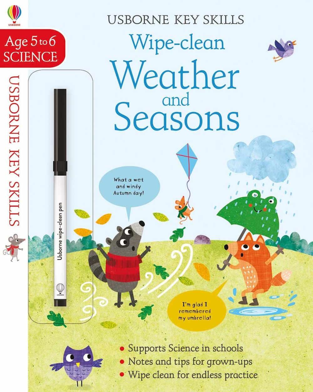 książka dla dzieci o pogodzie po angielsku