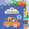 książka sensoryczna dla roczniaka pojazdy po angielsku