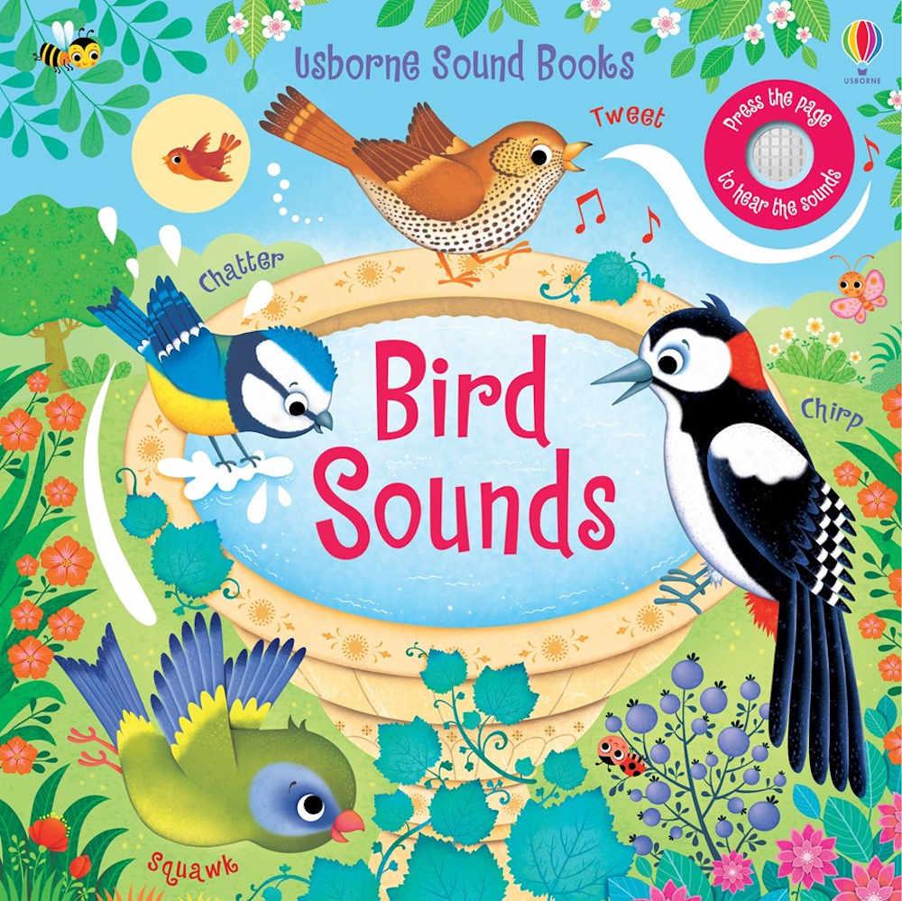 książka dla dzieci po angielsku dźwiękowa ptaki