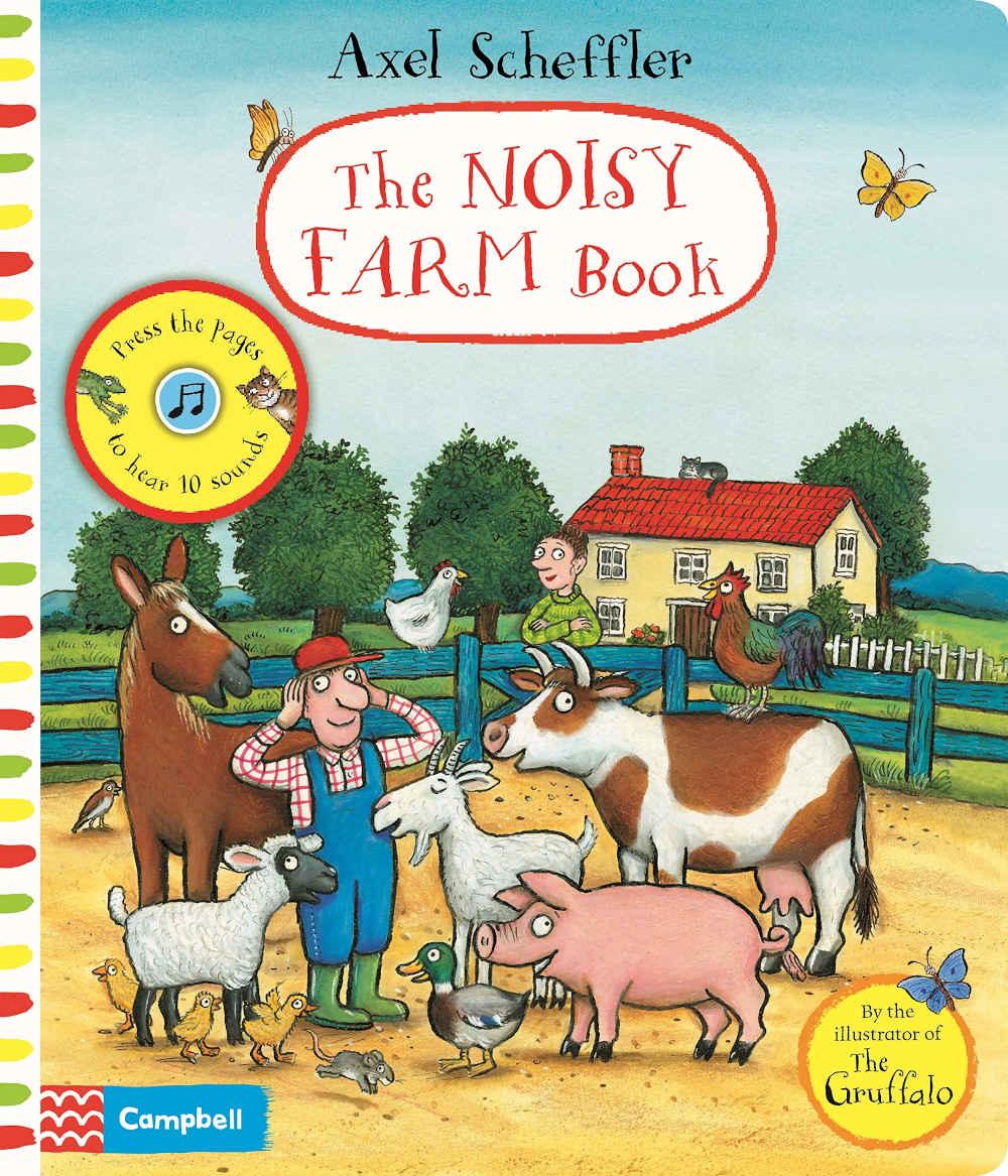 ksiązka dźwiękowa farma odgłosy zwierząt po angielsku