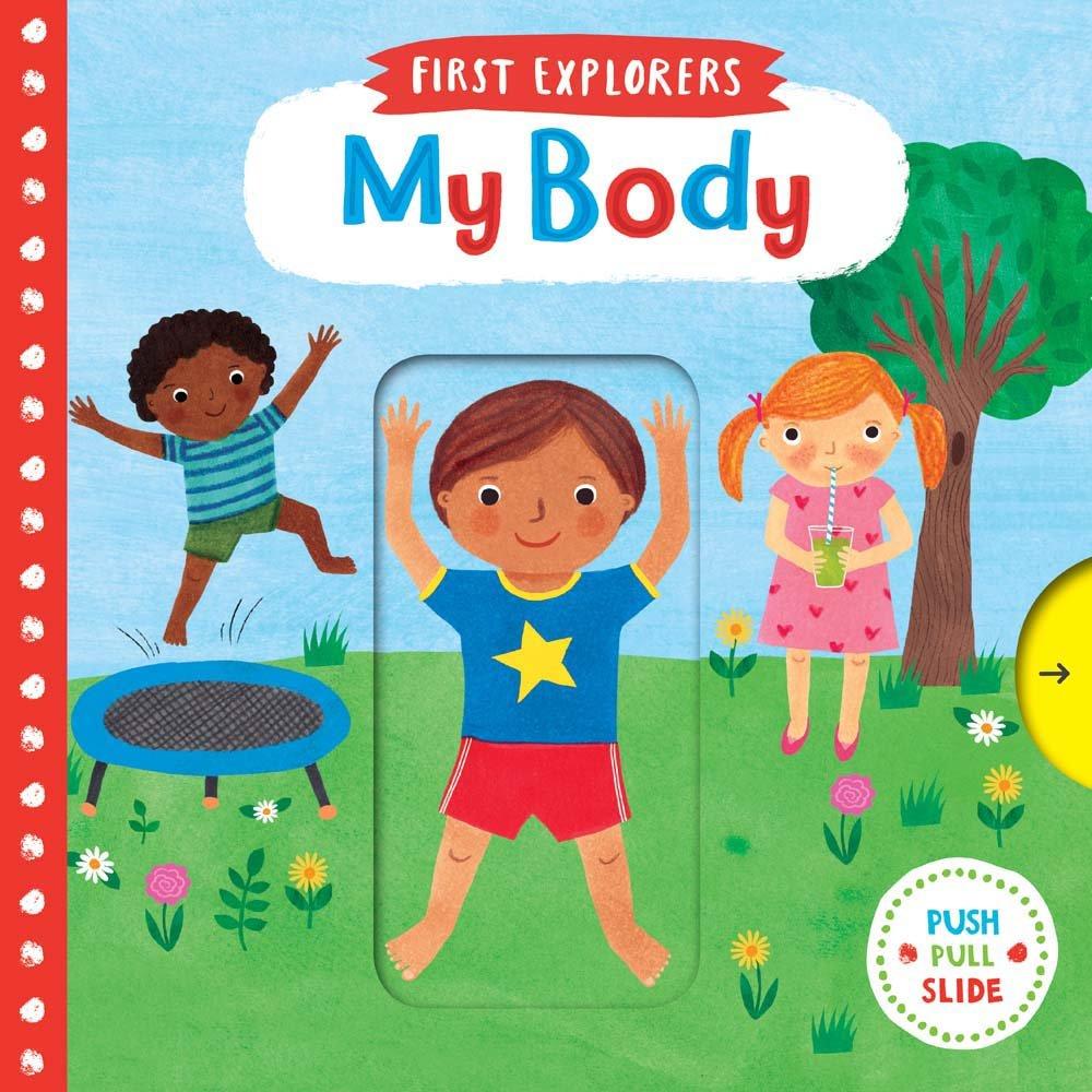 ciało człowieka ksiażka dla 2 latka po angielsku