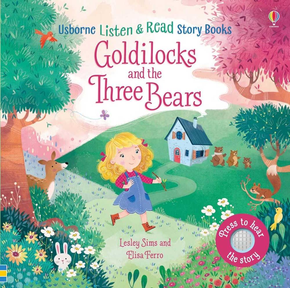 złotowłosa i trzy niedźwiadki po angielsku
