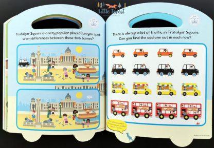 londyn ksiazka dla dzieci