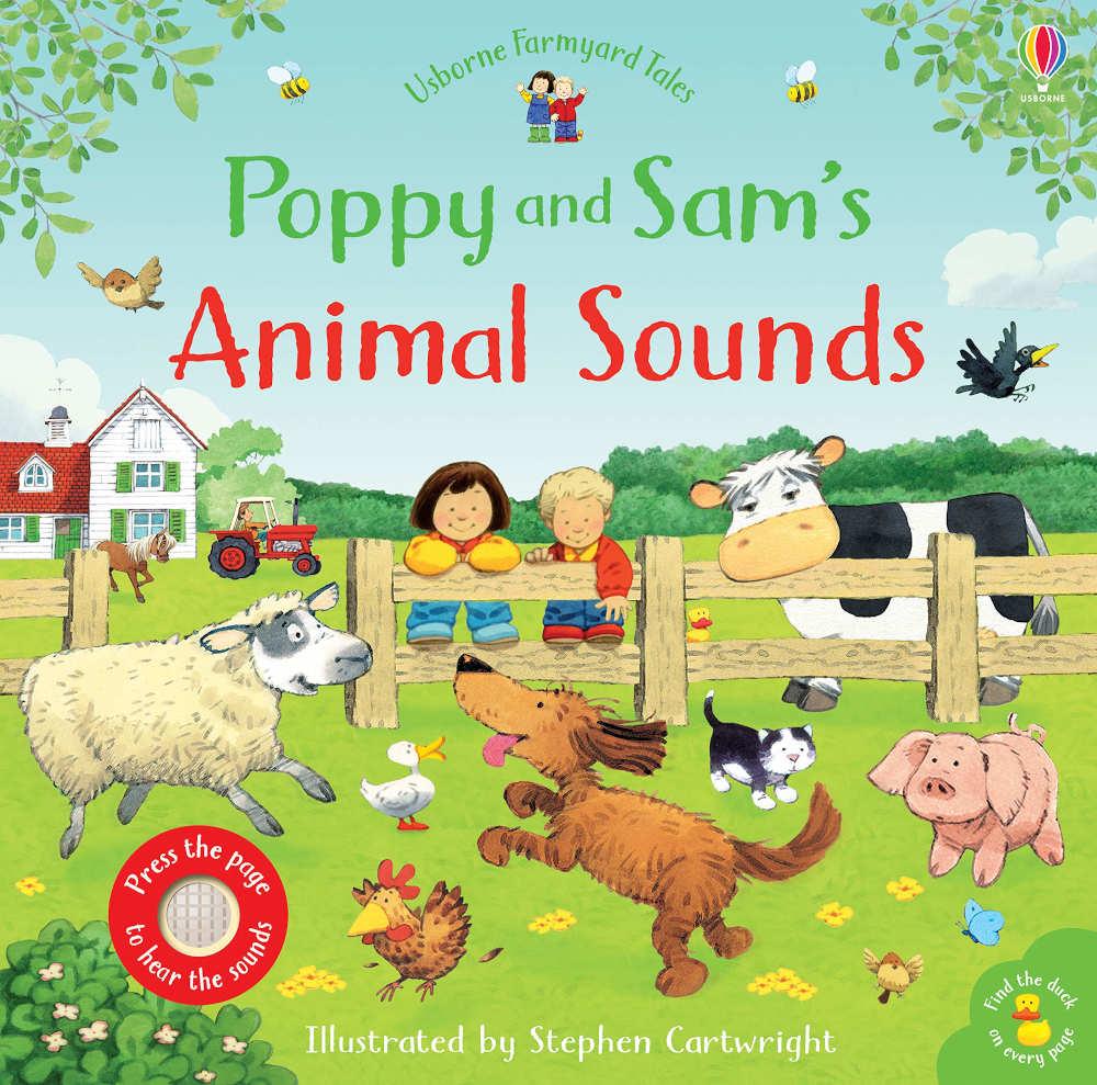 książka dźwiękowa farma odgłosy zwierząt