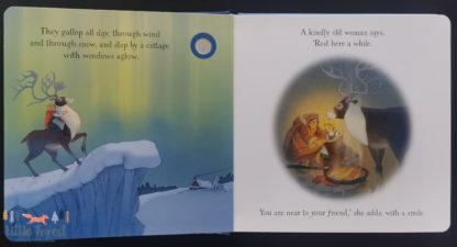 królowa śniegu po angielsku książka dźwiękowa usborne