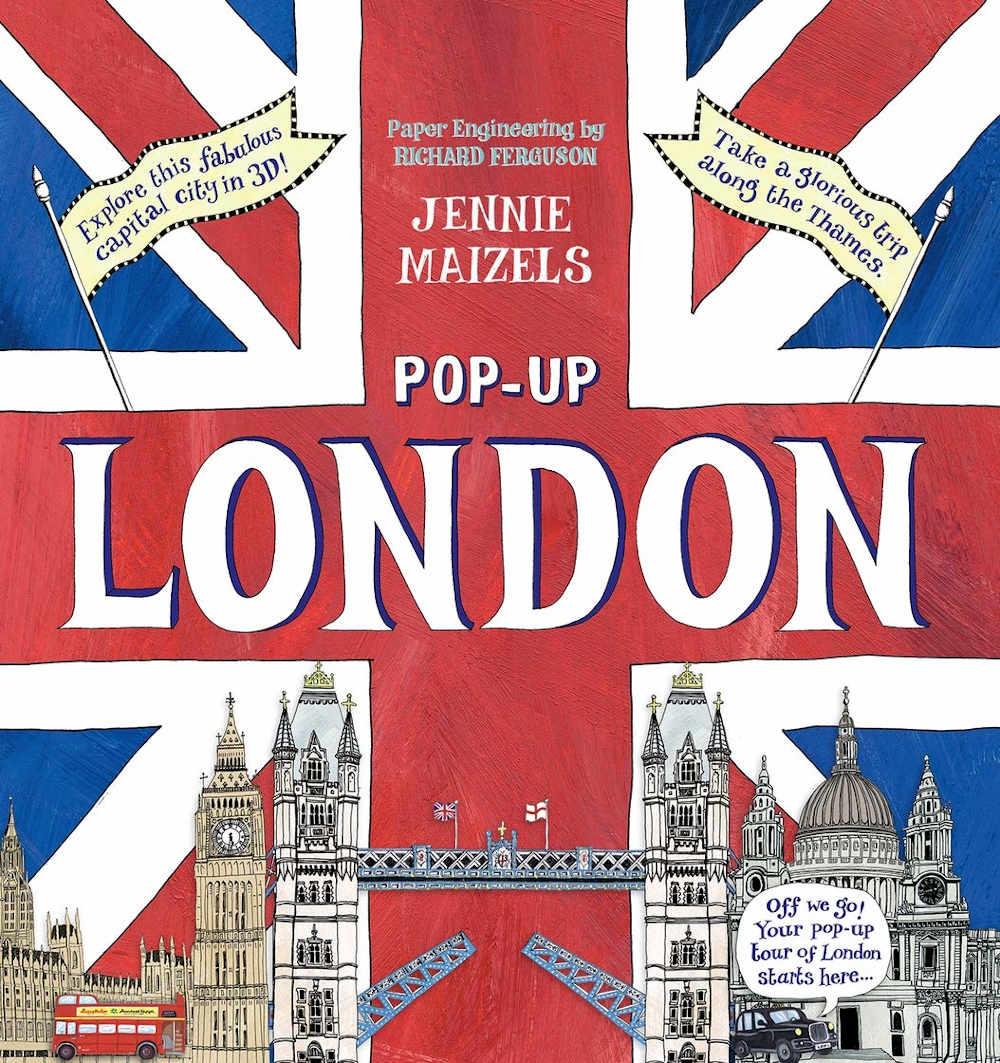 londyn ksiazka 3d po angielsku